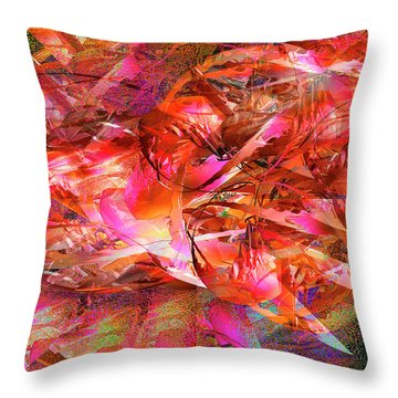 Loves Whirlwind Throw Pillow by Michael Durst
