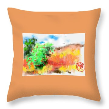 lovin Idaho autumn Throw Pillow