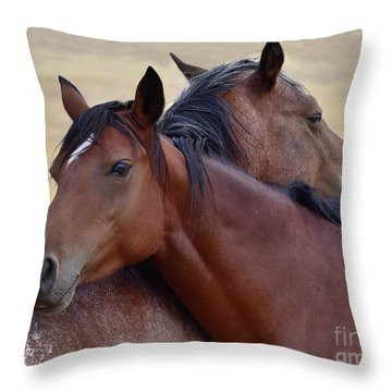 Loving One Another Throw Pillow