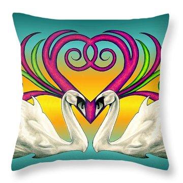 Loving Souls Throw Pillow
