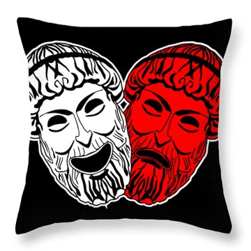 Loving Theater Throw Pillow