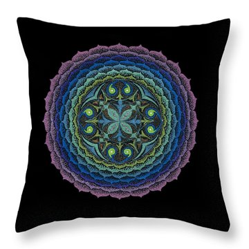 Loving Truly Throw Pillow by Keiko Katsuta