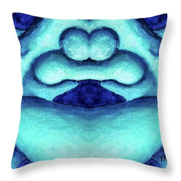 Loving Union Throw Pillow by Versel Reid