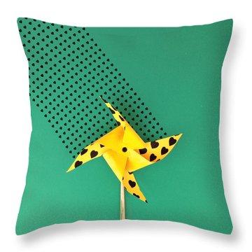 Loving Wind Throw Pillow