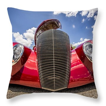 Low And Cool Throw Pillow