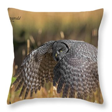 Low And Dangerous Throw Pillow