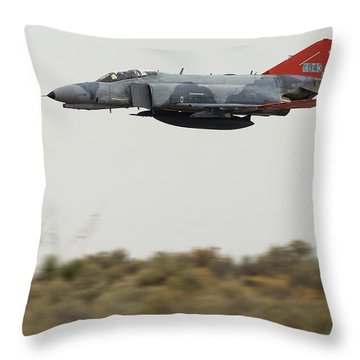 Low And Fast Throw Pillow