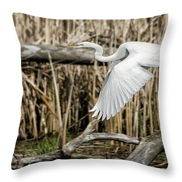 Low And Slow Throw Pillow