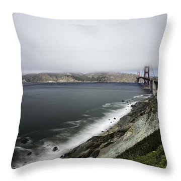 Low Cloud Throw Pillow