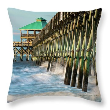 Low Country Landmark Throw Pillow