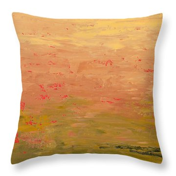 Low Land Throw Pillow