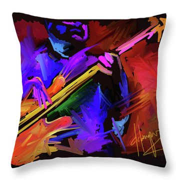 Throw Pillow featuring the painting Low Rider by DC Langer