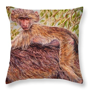Low Rider Throw Pillow