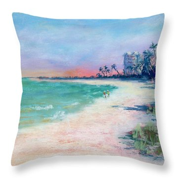 Lowdermilk Park North Throw Pillow by Laurie Paci