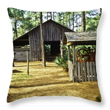 Lowe Barn Throw Pillow