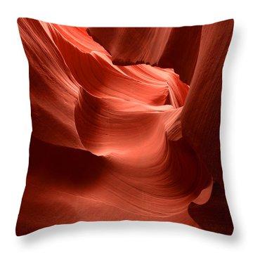 Lower Antelope Canyon 1 Throw Pillow