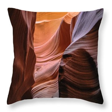 Lower Antelope Canyon Navajo Tribal Park #1 Throw Pillow