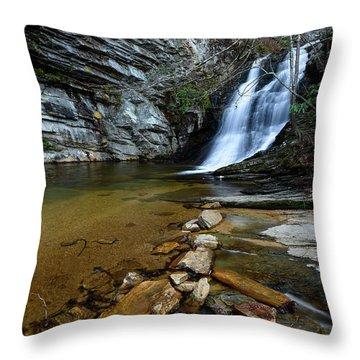 Lower Cascades Throw Pillow