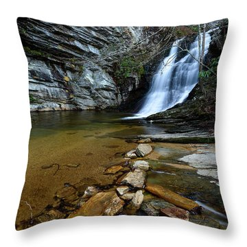 Lower Cascades Throw Pillow