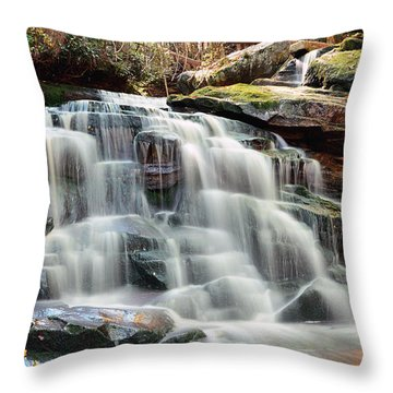 Lower Elakala Throw Pillow