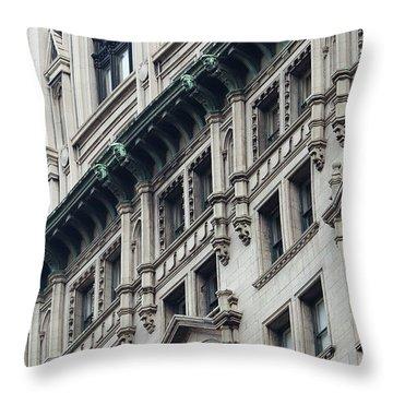 Lower Manhattan Throw Pillow