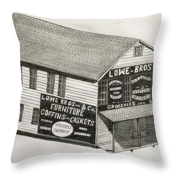 Lowe Brothers Hardware  Throw Pillow