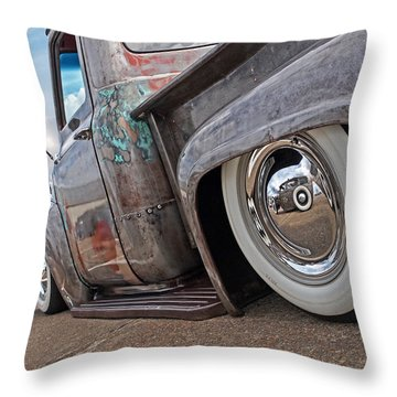 Lowrider - F100 Rear Throw Pillow