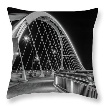 Lowry Avenue Bridge Throw Pillow