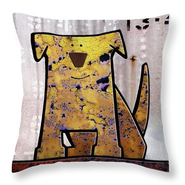 Loyal Throw Pillow