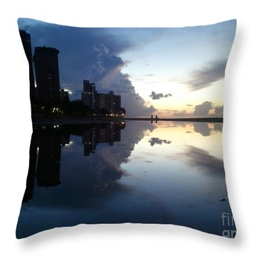 Loyda's Point Of View Throw Pillow