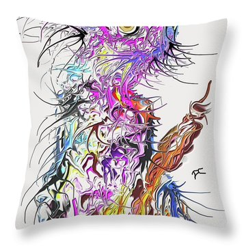 Lsd Bird 2 Throw Pillow