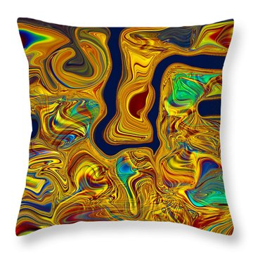 LSD Throw Pillow