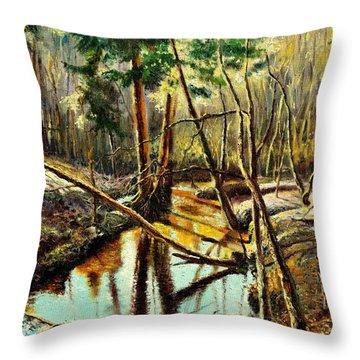 Lubianka-1- River Throw Pillow