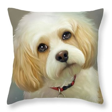 Lucas Cavachon Throw Pillow