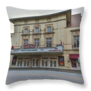 Lucas Theatre Savannah Ga Throw Pillow