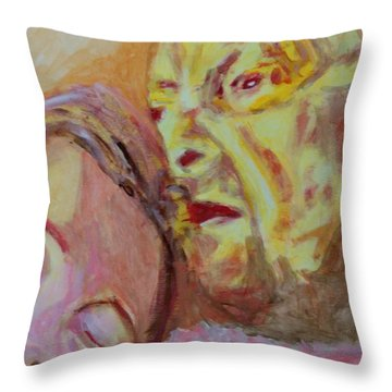 Lucian And Kate V Throw Pillow by Bachmors Artist
