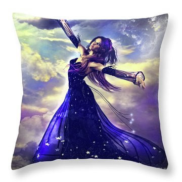Lucid Dream Throw Pillow