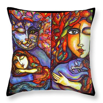 Lucid Dreams Throw Pillow