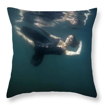Lucid State Throw Pillow