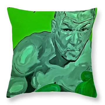 Lucky Charm Throw Pillow by Miriam Moran