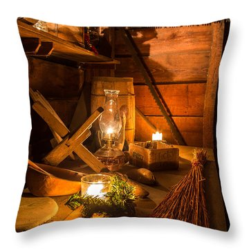 Lucky Joe-1 Throw Pillow