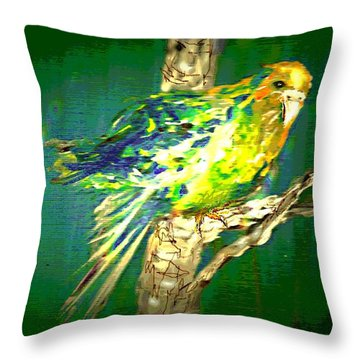 Lucky Louie Throw Pillow