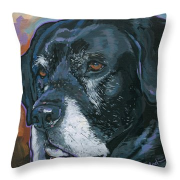 Lucy Throw Pillow by Nadi Spencer