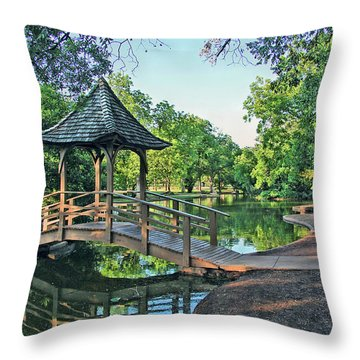 Lucy Park Throw Pillow