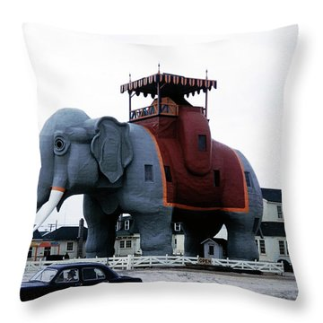 Lucy The Elephant 2 Throw Pillow