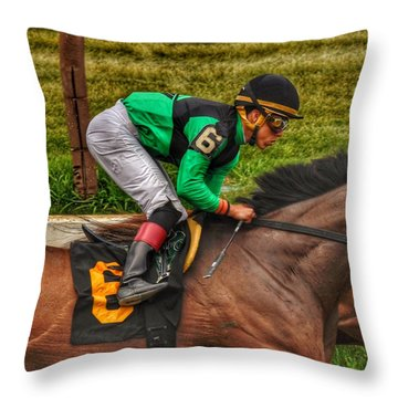 Luis Throw Pillow