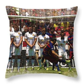 Sergio Ramos Throw Pillows