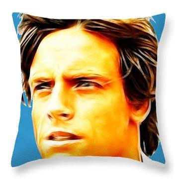 Luke Throw Pillow by Paul Van Scott
