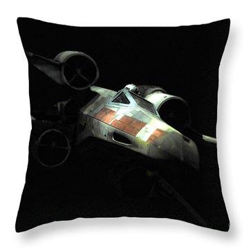 Luke's Original X-wing Throw Pillow