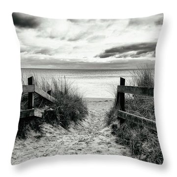 Lull Throw Pillow by Karen Stahlros